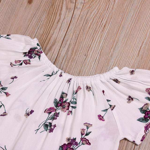 Baby Girl's Cotton Short Sleeve Dress