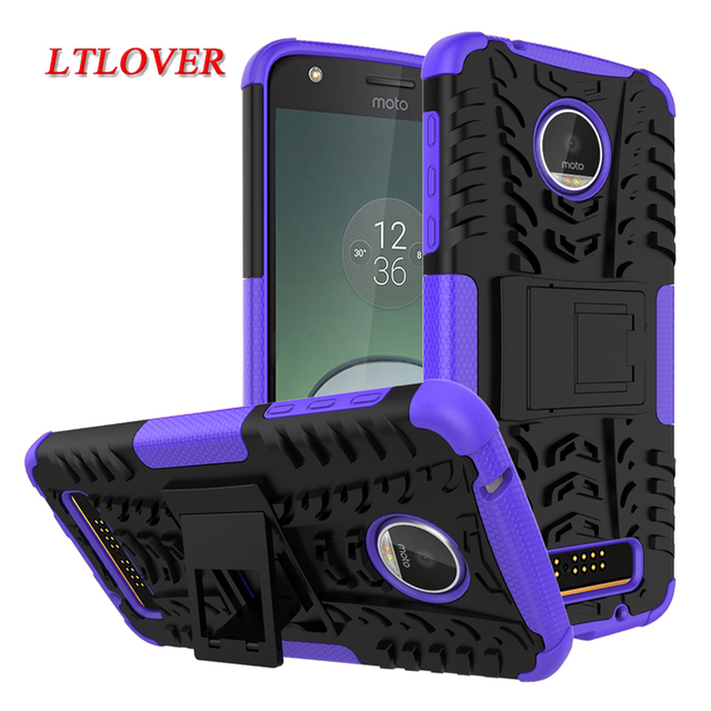 For Motorola Moto Z Force Cover Heavy Duty Armor 2 in 1 Shockproof Holder Phone Case For Motorola Moto Z Z2 Play Cases Cover