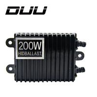 200W For HID Bi Xenon Slim Digital Replacement Ballast Reactor Light For H1 H3 H7 9006