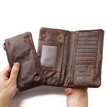 Men Wallets Long Large Capacity Long Handy Business Card Holder Phone Men Wallet Purse Male Coin Purse Clutch Bag Wallet for men feidikabolo boutique men s clutch bag new fashion personality large capacity business bag casual wild mobile phone coin purse