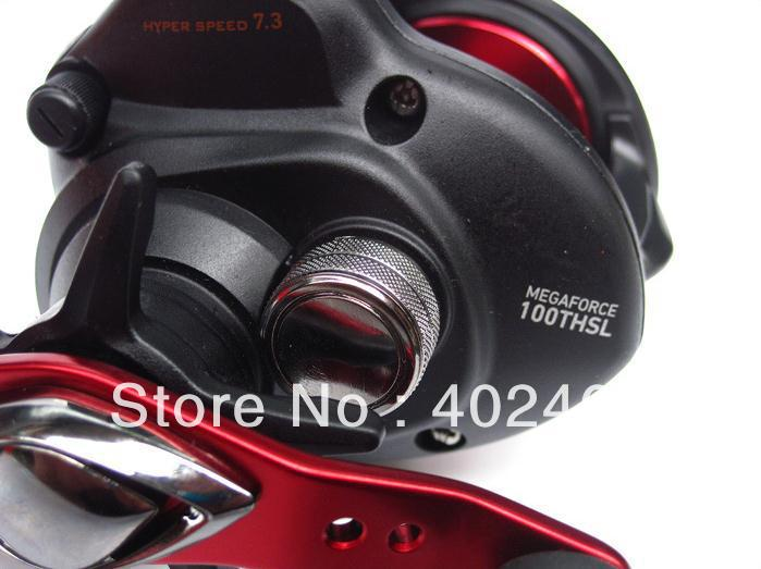 f8026f2b64c Free shipping By EMS fishing reels Baitcasting reel DAIWA Megaforce THS  gear ratio/7.3:1 Six ball bearings Left hand-in Fishing Reels from Sports  ...