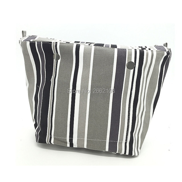1 piece Colourful Insert Lining Inner Pocket For Classic Big Obag mini bag too  women's should bags Totes Handbags 2017