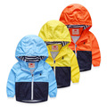Children Jackets For Boys Spring Autumn Hooded Windproof Boys Outerwear & Coats 3-10 Years Boy Cardigan Jackets Kids Jaqueta