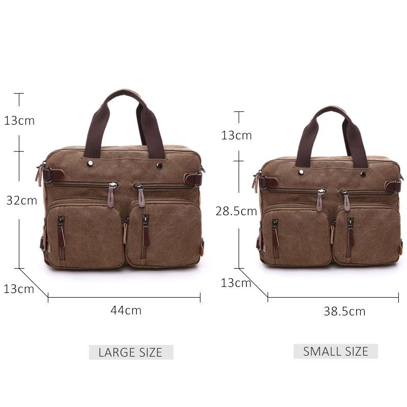 Large Pocket Back Briefcase