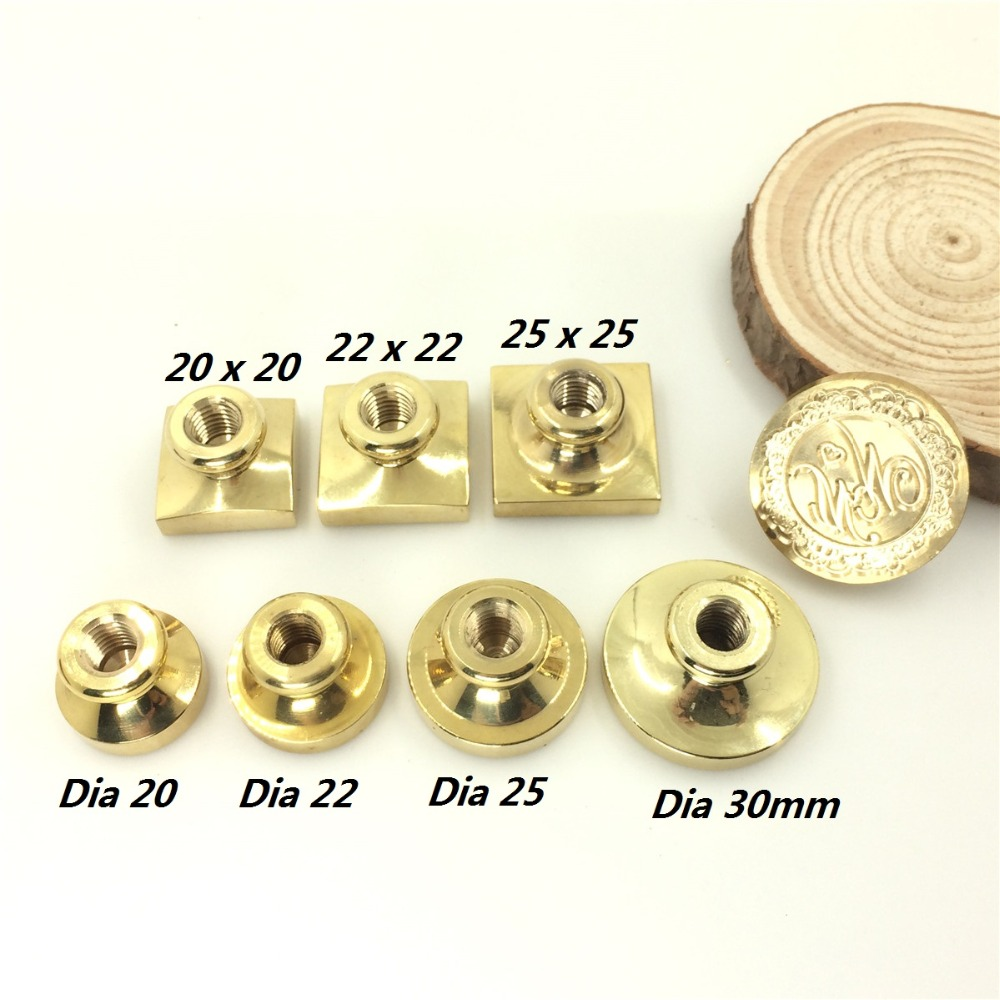 Customize Wax Stamp Different Shape,Only Brass Stamp Head,DIY Ancient Seal Retro Stamp,Personalized Stamp Wax Seal Custom Design