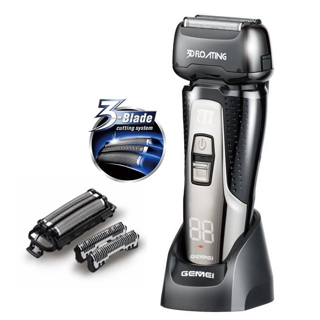electric razor products for wet shavers