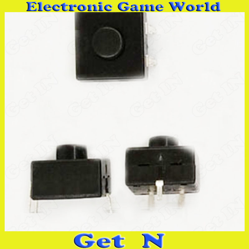 20pcs 213BS Flashlight Switches Push Button Switches Bend Pins 2 ON 1 OFF Self Locking