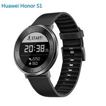 Huawei Original Fit Honor S1 Inteligente Reloj 5ATM NADAR CORAZÓN CONTINUA TASA de LARGA DURACIÓN de LA BATERÍA HASTA 6 DÍAS PK DZ09 Reloj Serie 2