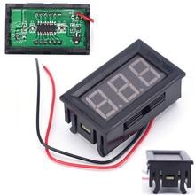 Mini voltmeter tester Digital voltage test battery DC 0-30V red auto car ootdty mini voltmeter tester digital voltage test battery dc 0 30v red blue green auto car