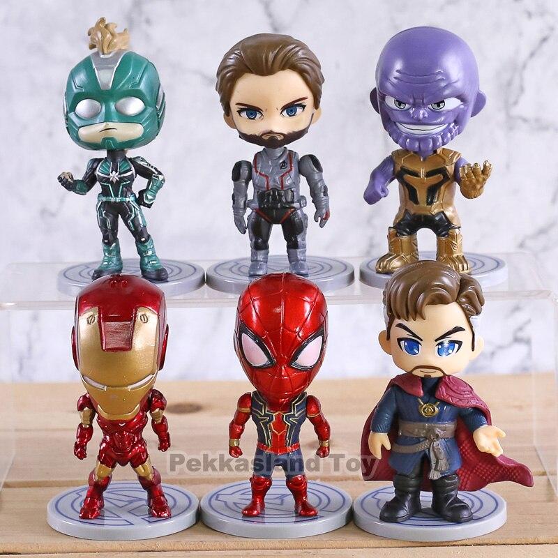 6pcs-set-font-b-marvel-b-font-toys-avengers-endgame-thonas-doctor-strange-spiderman-action-figure-captain-font-b-marvel-b-font-carol-danvers-model-doll