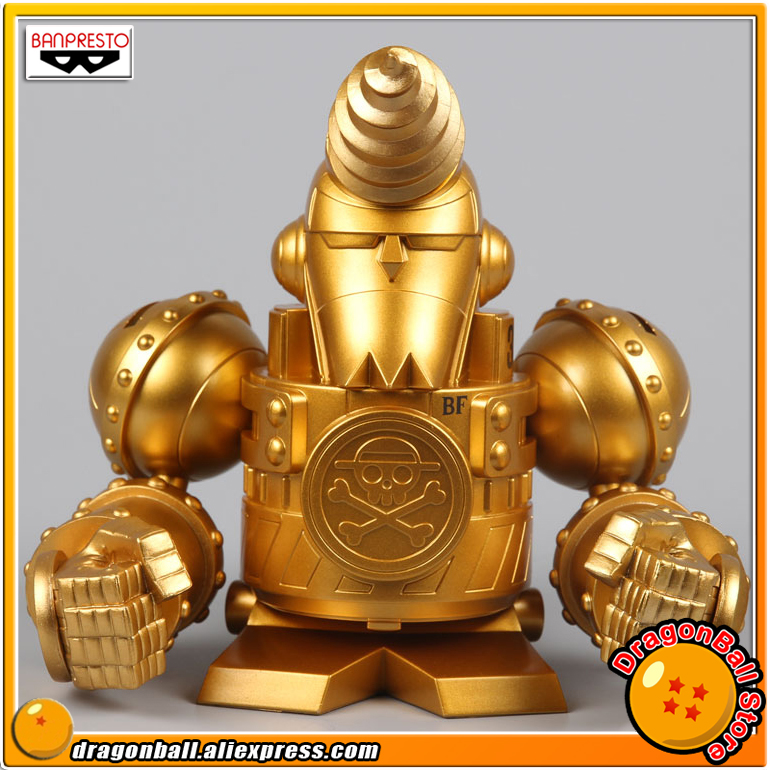 Japan Anime ONE PIECE FILM GOLD Original Banpresto Collection Figure - Golden General FRANKY 1pcs odin interconnect usb cable with a to b plated gold connection usb audio digital cable