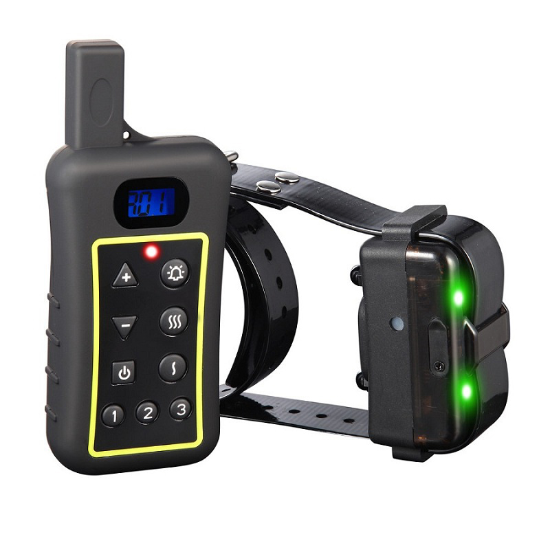 Factory price outdoor dog training no bark collar 1200meter waterproof remote dog trianing collar with beeper and vibration