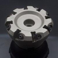 CNC индексируемое Фрезерование резак соответствует вставки FMD02 080 A27 HN09 08 фрезерные инструменты набор продольно фрезерный инструмент DF01.09A27.080