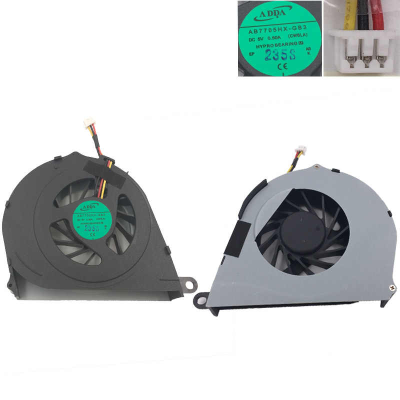 Brand New Laptop Cooling FAN for TOSHIBA Satellite L755 L755D PN:AB7705HX-GB3 AB5005UXR03 CPU Cooler/Radiator Replacement