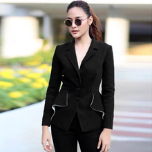 Long Sleeve Jacket Pants 2 Two Pieces Set