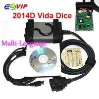 2016 Latest Version 2014D Multi Language Vida Dice For VO V O Professional Diagnostic Scanner