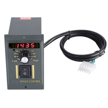 Ac 220V Motor Speed Controller 50Hz 250W Digital Adjustable Stepless Plc Motor Speed Controller 0 1450Rpm Speed Regulator