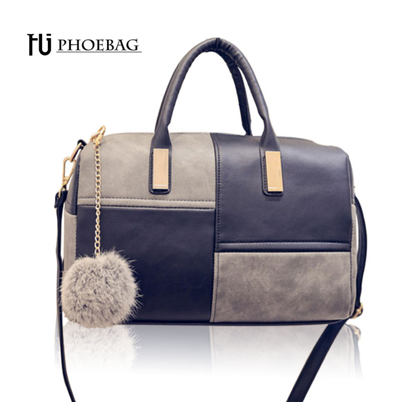 цена на HJPHOEBAG Fashion patchwork pillow handbags hot sale women evening clutch ladies party purse famous brand shoulde bags Z-458
