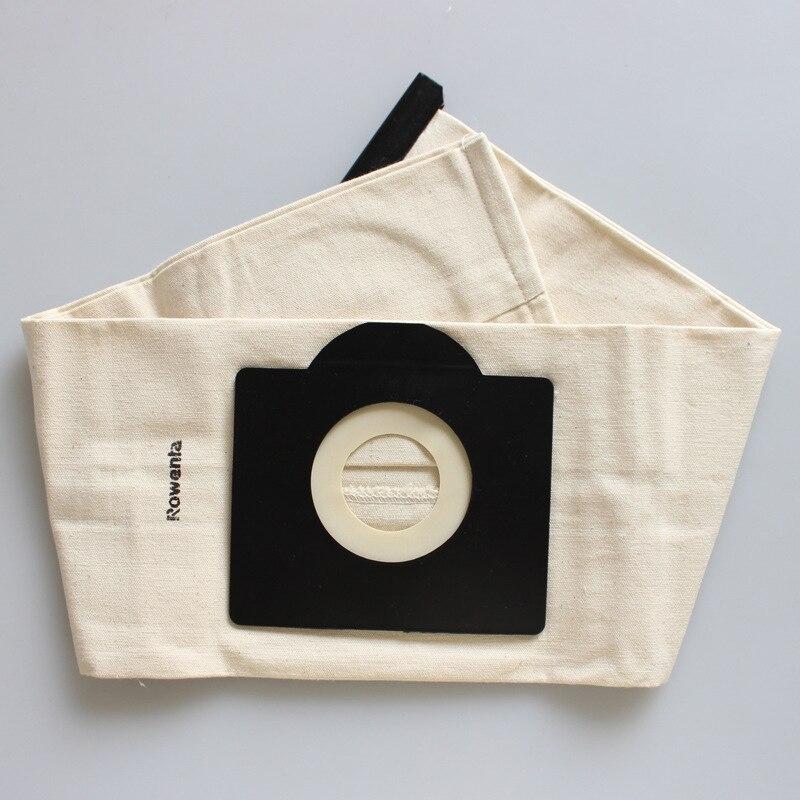 Universal Vacuum Cleaner Bags Washable Dust Bag for Rowenta ZR814 Karcher,HR6675,alaska,fakir,fif,wirbel,soteco,foma cloth bags