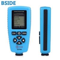 Английский edition BSIDE cct01 цифровой Толщина Калибр Авто Толщина метр Приборы для измерения ширины ЖК дисплей дисплей