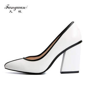 713ca950a71 Fanyuan Women Pumps Genuine Leather Female Shoes