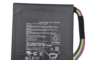 Image 4 - JIGU oryginalny C21 EP101 tablet bateria do asus Eee Pad transformator TF101 TR101 7.4V 3300mAh