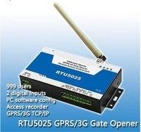 GSM système de contrôle d'accès par mobile téléphone/sms ouvre-exploité RTU 5025 GSM Système D'alarme
