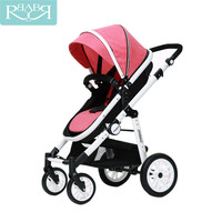 Baby Stroller 2 In 1 High Landscape Prams Sit and Lie Folding Baby Carriage For Newborn Infant Four Wheels Kinderwagen