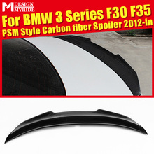 F30 Spoiler Carbon Tail Wing AEPSM Style For BMW 320i 325i 328i 328d 330i 335i 335d Rear car styling 2012-in