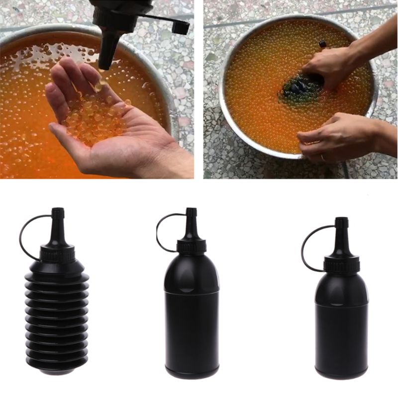 Water Beads Loading Bottle Water Paintball Bottle For Water Gun Bullet Blaster CS Battle Toy Gun Accessories