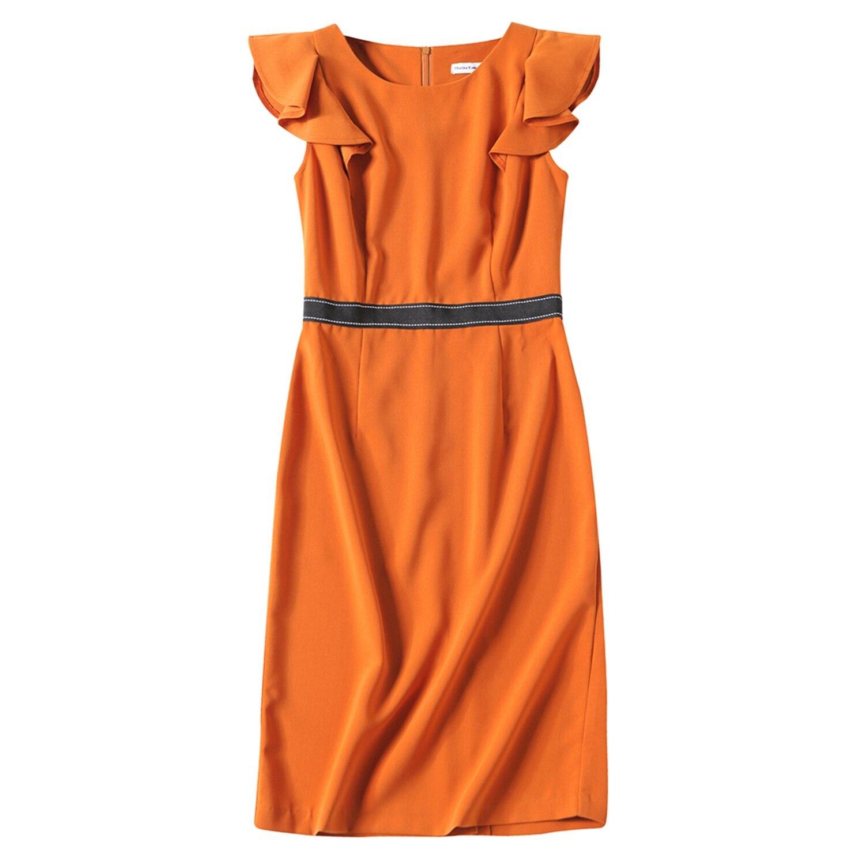 DCOS Marina Kaneva Women's Summer Sleeveless High-end Slim Thin Two fake wish explosion dress