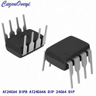 10pcs/lot New AT24C64N 24C64 24C64AN AT24C64 DIP-8 EEPROM memory IC In Stock10pcs/lot New AT24C64N 24C64 24C64AN AT24C64 DIP-8 EEPROM memory IC In Stock