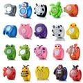 Nuevo 3D ver dibujos animados 16 tipos de animales Children'S reloj bebé chico cuarzo relojes de muñeca para niñas más íntimo. regalo