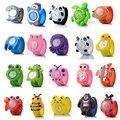 Nuevo reloj de dibujos animados 3D 16 tipos de reloj para niños de chico animales relojes de pulsera de cuarzo para niños y niñas regalo más íntimo