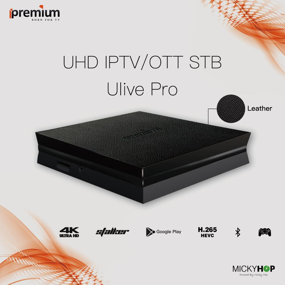 US $94 0 |Android TV Box Ulive Pro Ipremium UHD Smart TV Box IPTV/OTT Set  Top Box-in Set-top Boxes from Consumer Electronics on Aliexpress com |