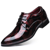 Plus Size 37 50 Patent Leather Oxford For Men Dress Shoes Men Formal Pointed Toe Business Wedding Shoes sapato social masculino