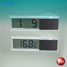 2edf698d26ac Hippcron coche Digital termómetro reloj Digital del coche reloj accesorios  del coche de la ventana