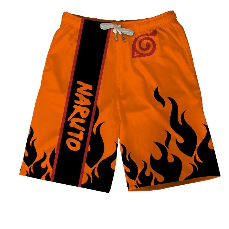 Sasuke Naruto Board   Shorts   Beach Summer Men Japanese Anime Uzumaki Breathable Quick Dry Swim Sports Surfing Trunks 3D   Short   Pant
