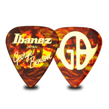 1pc 1100GB Guitar Picks George Benson Signature Ibanez Bass Mediator Acoustic Electric Accessories Classic leopard Guitar Picks ibanez gsd50 design guitar strap