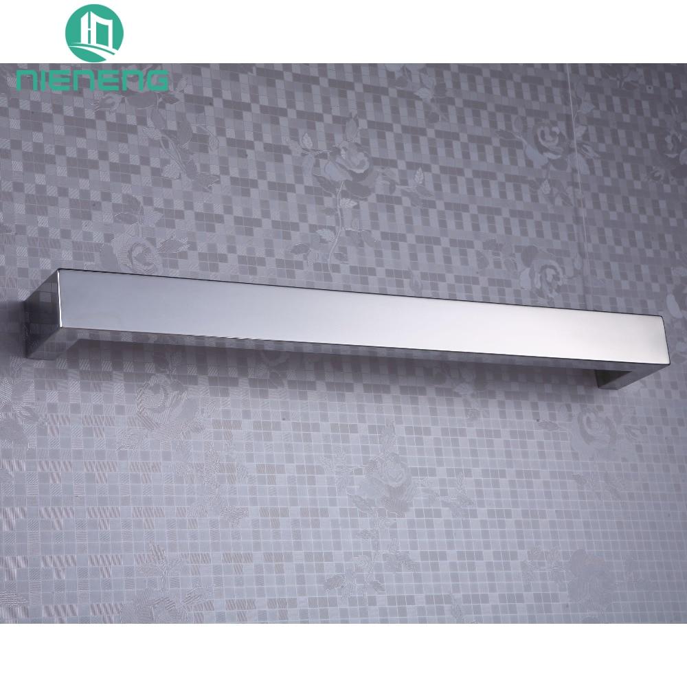 ICD50019 304 Stainless Steel Heated Towel Bars, Electric Towel Rail Banheiro Bathroom Prateleira Warmer Towel Heater