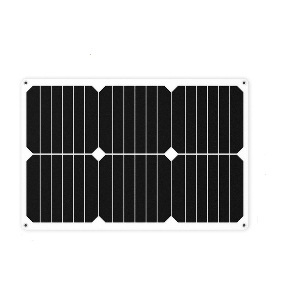ALLPOWERS Car Solar Battery Charger 12V 18V 18W Flexible Solar Panel Cell Charger Battery Maintainer Boat Motorcycle Outdoor allpowers portable solar car battery charger automatic 18v 12v 7 5w solar panel charger battery maintainer boat motorcycle
