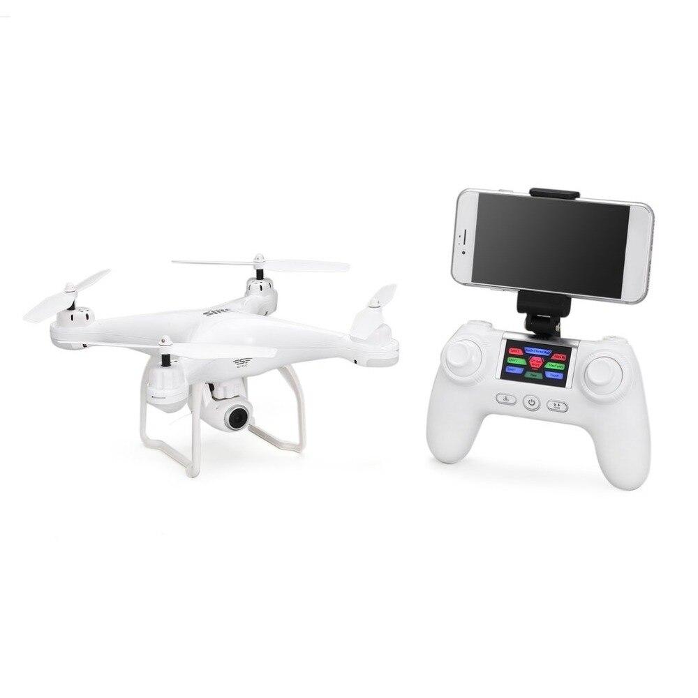 SJ R/C S20W Безголовый режим автоматического возврата взлета/посадки Hover gps RC Квадрокоптер FPV 720P 1080P камера селфи высота удержания Дрон - 5