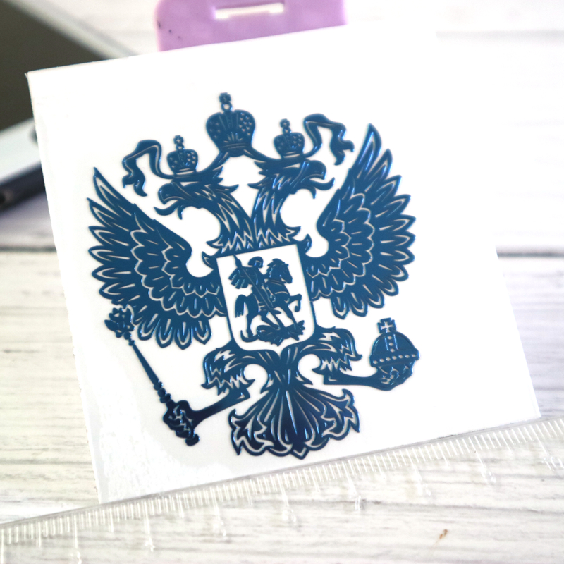 CK2725 34 39 mm 3D Coat of Arms of Russia Nickel Metal car sticker Russian Federation Eagle Emblem car auto stickers for car in Car Stickers from Automobiles Motorcycles