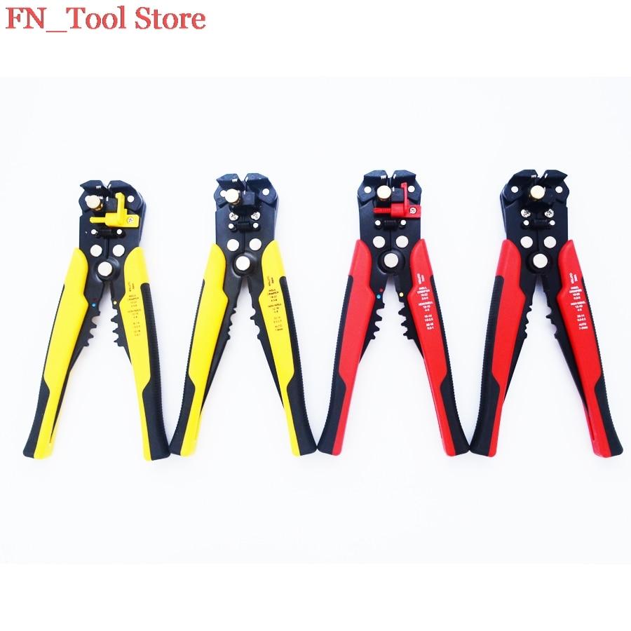 Zangen Fasen Neue Multi Kabel Abisolieren Awg24-10 0,2-6.0mm2 Gerade Schneiden Crimpen Werkzeuge Draht Stripper Hs-d1 FöRderung Der Produktion Von KöRperflüSsigkeit Und Speichel
