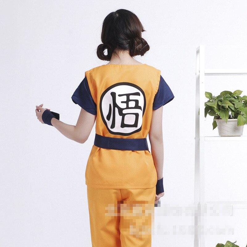 Драконий жемчуг одежда оптом косплей костюм солнце Укун игры cosetume цвет как показывают размер XXS-2xl