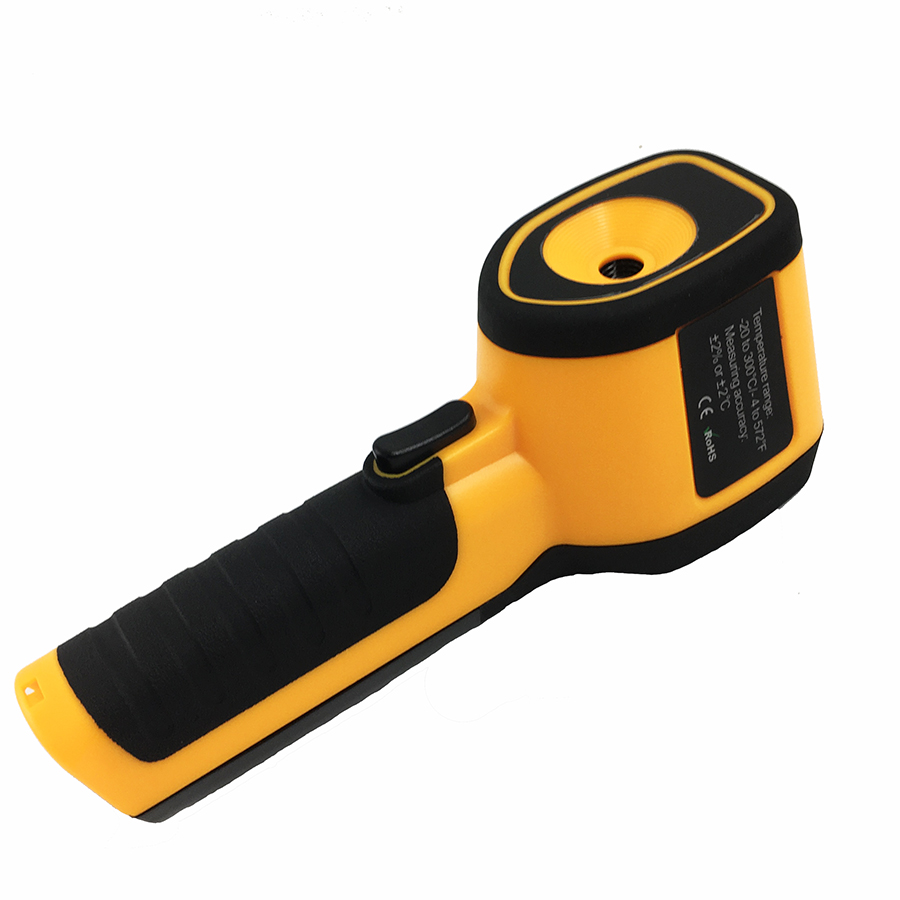 Rechargeable Battery Powered Infrared Thermal Imager with Color Display Screen 10