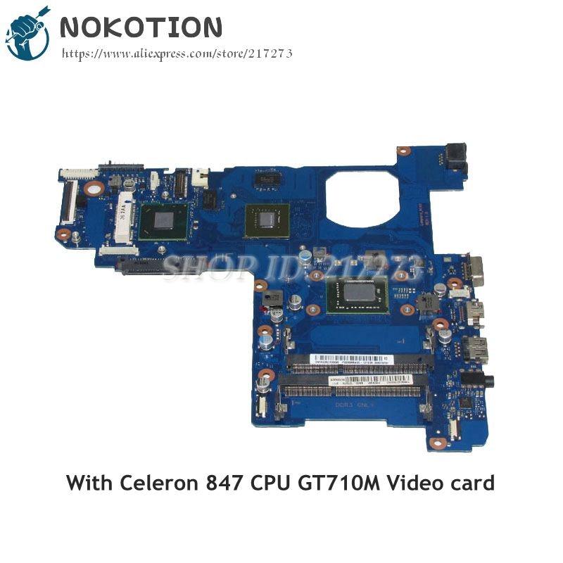 Samsung NP270 NOKOTION NP270E4V Laptop Anakart BA41-02243A BA92-12197A BA92-12197B SR08N 847 CPU GPU GT710MSamsung NP270 NOKOTION NP270E4V Laptop Anakart BA41-02243A BA92-12197A BA92-12197B SR08N 847 CPU GPU GT710M