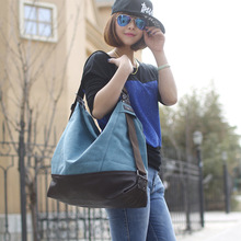 Bags For Women Luxury Handbag Female Brand Designer Shoulder Bag Fashion Casual Patchwork Bags Shopping Canvas Handbags