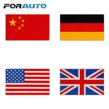 FORAUTO Non-Slip Pad Car Sticky For Phone GPS Coin Key Holder Auto Interior Accessories Anti Slip Mat China UK US Germany Flag