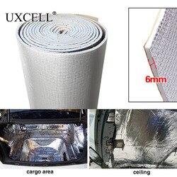 UXCELL 6mm 236mil épaisse fibre d'alumine + silencieux coton voiture Auto intérieur chaleur insonorisation isolation insonorisée tapis d'amortissement